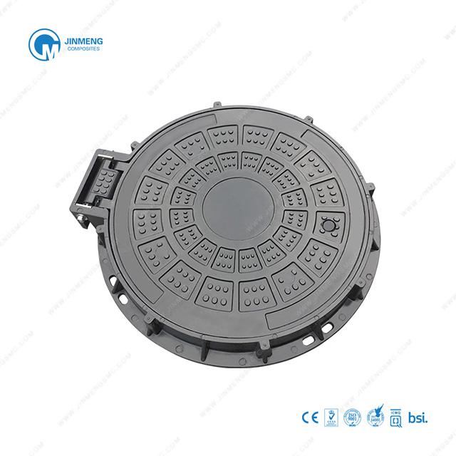 600mm Lockable Round Manhole Cover