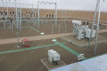 Mongolian power station project trench cover