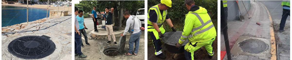 Round Manhole Cover Project Pictures